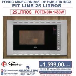 Título do anúncio: Forno Micro-ondas Embutir Inox