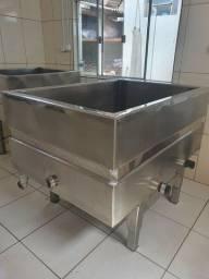 Tanque de fabricação de queijos 500 litros