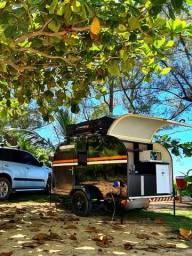 Mini trailer motorhome