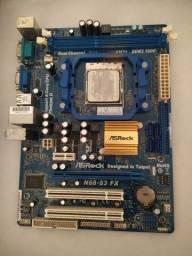 Placa + Processador