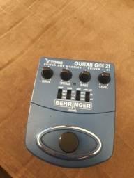 V-tone Gdi 21 Behringer, simulador de amp e driver