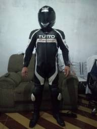 Macacão motoqueiro marca tutto