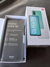 Redmi note 10 64Gb-4Gb grafite - super lançamento- lacrados + garantia