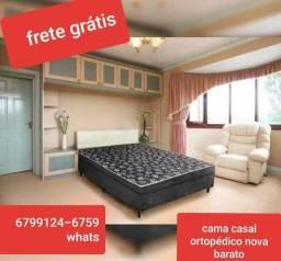 Título do anúncio: Sábado cama nova barato garantia entrega
