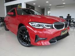 BMW 320i 2020 2.0 16V TURBO GASOLINA SPORT AUTOMÁTICA VERMELHA COMPLETA!