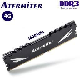 Título do anúncio: Memória 4GB, DDR3 1600Mhz R$ 100,00