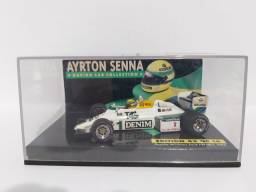 MINIATURA F1 SAUDIA WILLIAMS FW08C 1983 AYRTON SENNA - EDITION 43 N°16