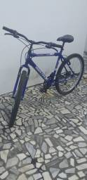 Bike semi nova azul