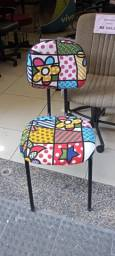 Título do anúncio: Cadeira Estampada Simples