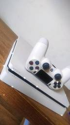 Título do anúncio: PS4 branco slim