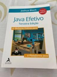 Título do anúncio: Livro Java Efetivo