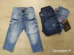 Calça Jeans de Bebê Masculino