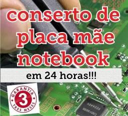 Fazemos Conserto de Placa mãe de notebook com garantia!!!!
