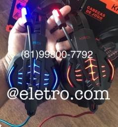 Headset Gamer Kaidi Original ENTREGA GRATIS