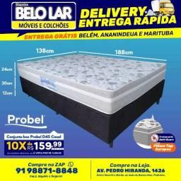Cama Box Probel D45 Casal, Compre no zap *