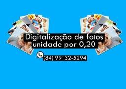 Digitalização de fotos