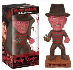 Boneco Freddy Krueger Hora Do Pesadelo Filme Estatua Cabeça