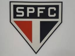 Simbolo do time do São Paulo em MDF (3D)