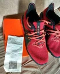 Tênis Nike airmax sequent vermelho e preto 39