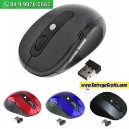 Mouse Profissional Sem Fio Wireless Usb A entregah gratis