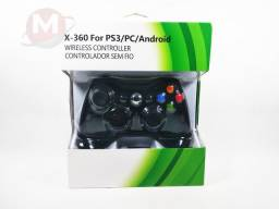 Controle Joystick Universal Xbox 360 PS3 PC e Android