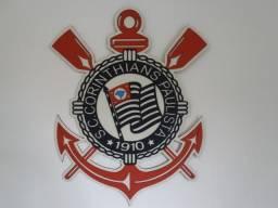 Simbolo do time do Corinthians em MDF (3D)