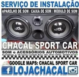 Título do anúncio: Serviço técnico de colocação de som (na Cidade Nova)