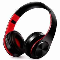 Fone de Ouvido Sem Fio Heaphone/Headset Bluetooth Tourya Vermelho