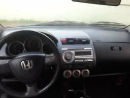 Carro Honda Fit Cambio Manual E.x 1.5 Prata 2007/2007 - 2007