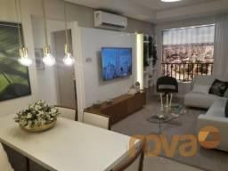 Apartamento à venda com 2 dormitórios em Setor aeroporto, Goiânia cod:NOV90750