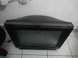 Televisão tela plana de 21polegada