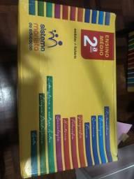Vendo módulo Marista 2º ano + caderno questões enem ( acompanha fichario)