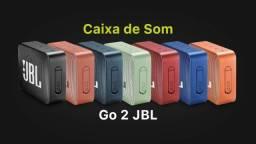 Caixa Bluetooth Jbl Go2 Azul Marinho Com Potência 3w - Jbl