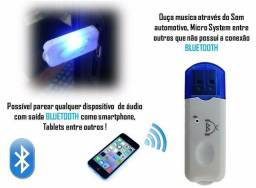 Adaptador Bluetooth Usb Stream Som Automotivo Carro Dvd Home