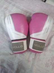 Luvas de Box Vollo Rosa