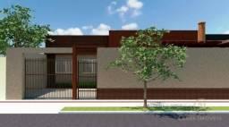 Casa com 3 dormitórios à venda, 74 m² por R$ 260.000 - Jardim Guararapes - Londrina/PR