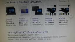 Notebook com placa gráfica NVIDIA Geoforce 2GB dedicada