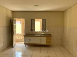 Casa com 1 dormitório para alugar, 45 m² por R$ 1.000,00/mês - Nova Gerti - São Caetano do