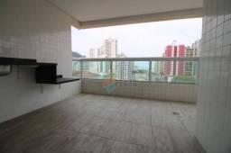 Apartamento para alugar, 112 m² por R$ 3.500,00/mês - Canto do Forte - Praia Grande/SP