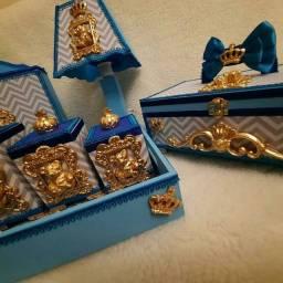 Kit higiene bebê em mdf linha super luxo