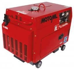 Gerador de Energia Motomil MDGT-5000ATS 5KVA com ATS Personalizado - Trifásico - 127V/220V