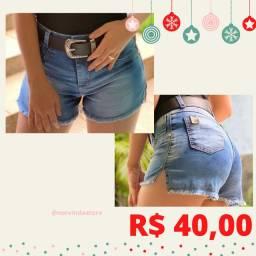 Short Jeans + cinto