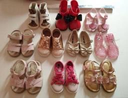 Lote de sapatinhos infantis