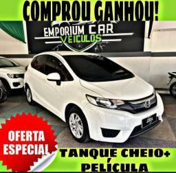TANQUE CHEIO SO NA EMPORIUM CAR!!! HONDA FIT LX 1.5 ATU ANO 2016 COM MIL DE ENTRADA