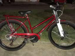 Bike aro 26, semi nova