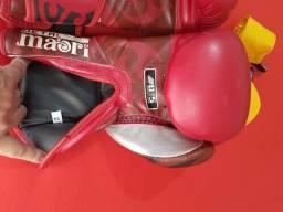 Luvas de boxe semi profissional estado de novas