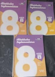 Livros coleção SAS 2020 8°ano