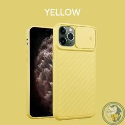 Capa Iphone Câmera Lock - Proteção da câmera