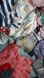 Vendo lote de roupas 2 reais a peça