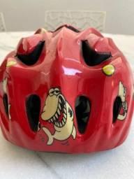 Kit proteção infantil bike skate joelheira/cotoveleira/capacete